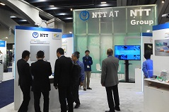 OFC2014 NTT-AT booth