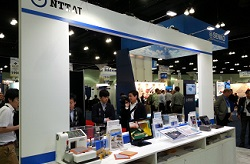 OFC2015 NTT-AT booth