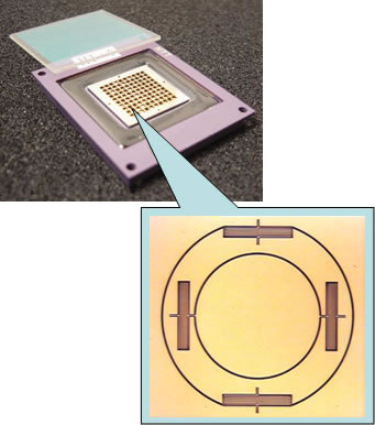 Example of MEMS device trial production