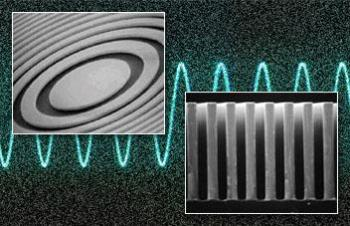 Image of X-ray Fresnel Zone Plate (FZP)