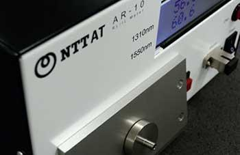 Image of Optical connector characteristics measuring instrument AR-10