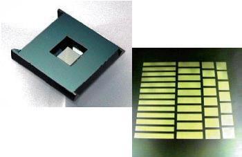 Image of SiC membrane, SiN membrane