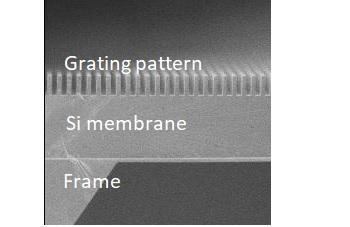 Image of Grating for X-ray Talbot-Lau Interferometry