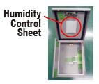 Humidity Control Sheet Humidity (Hygrometric) Measurement Test