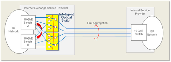Intelligent Optical switch -Applications- | NTT-AT